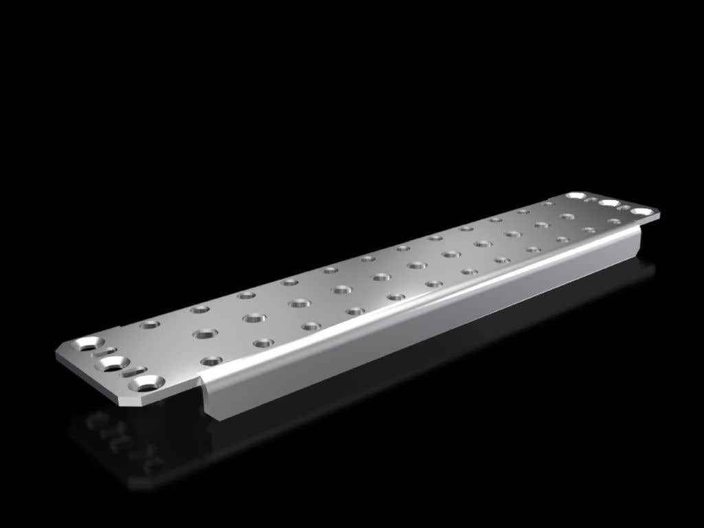 Support rail 75 x 20 mm for VX, TS, SE, CM
