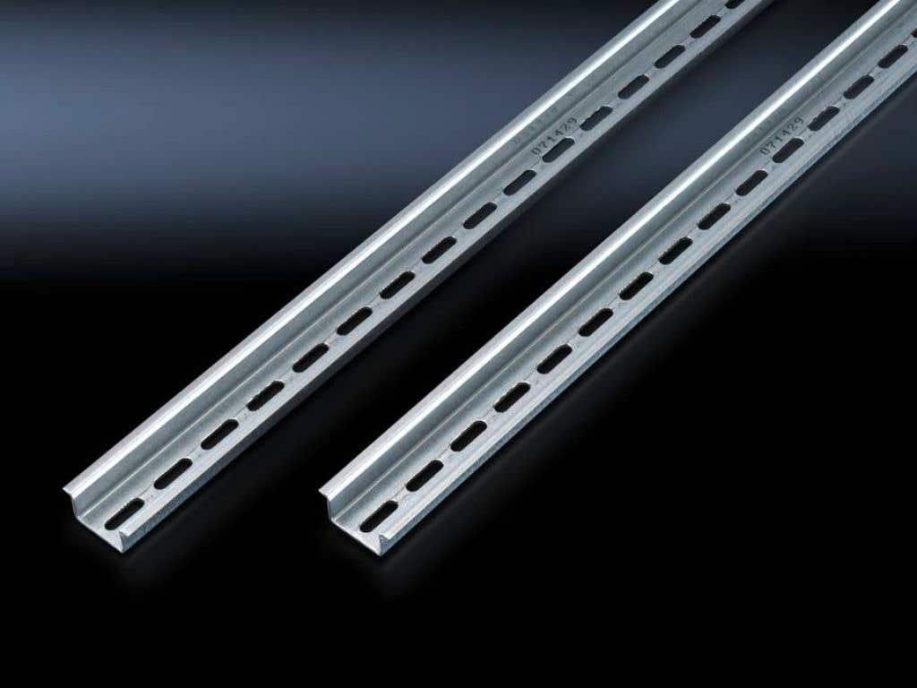 Support rail to EN 60 715