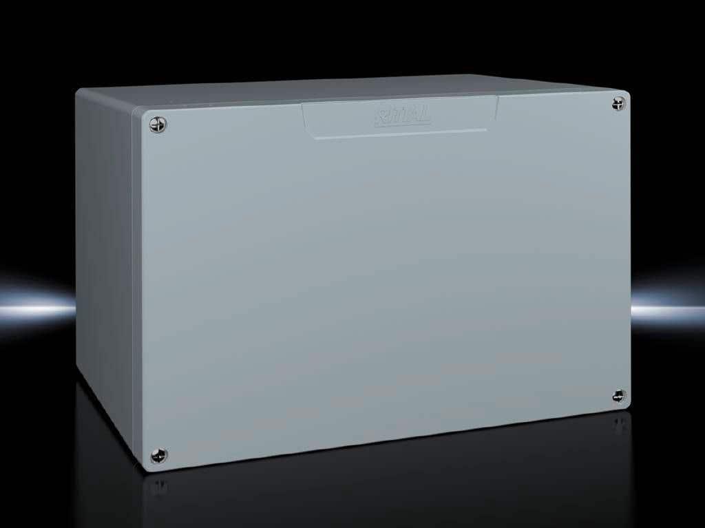 Cast aluminium enclosures GA