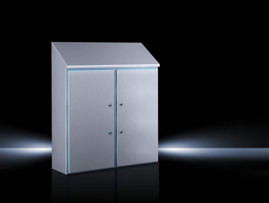 Hygienic Design Compact enclosure HD, two-door