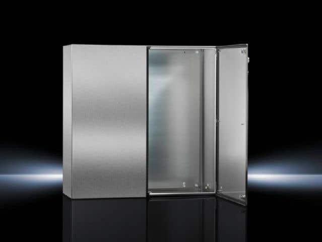 Door, right for two-door AE in stainless steel