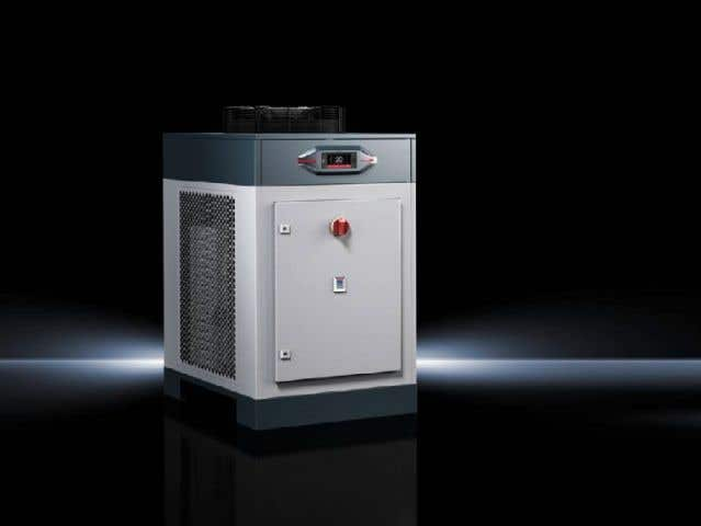 Chillers Blue e Total cooling output 11 - 25 kW