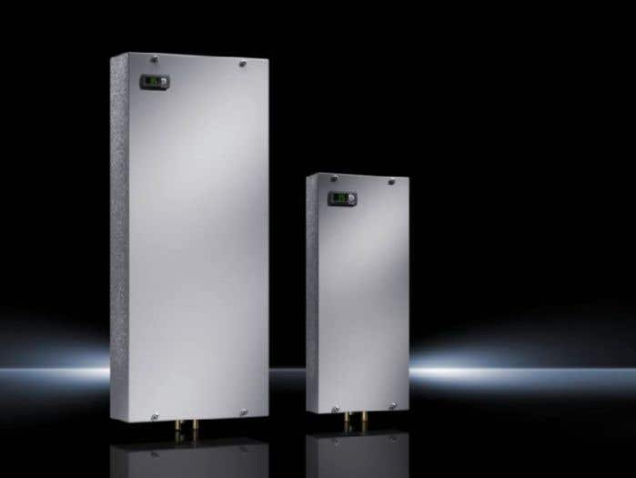 Air/water heat exchangers wall-mounted