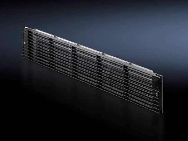 Front outlet grille 2 U for tangential fans