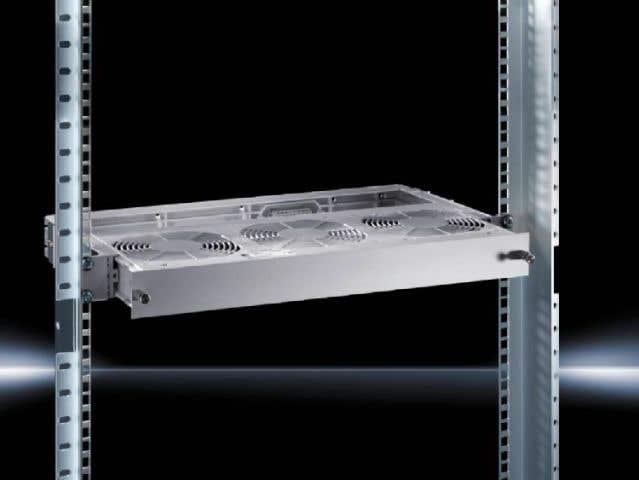 Guide frame for Vario rack-mounted fan