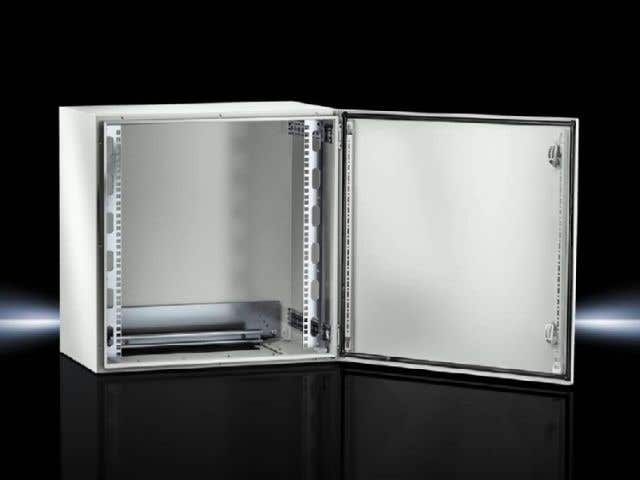 Wall-mounted enclosures AX IT with 482.6 mm (19