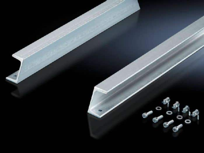 Support rail 65 x 42 mm for VX, TS, SE