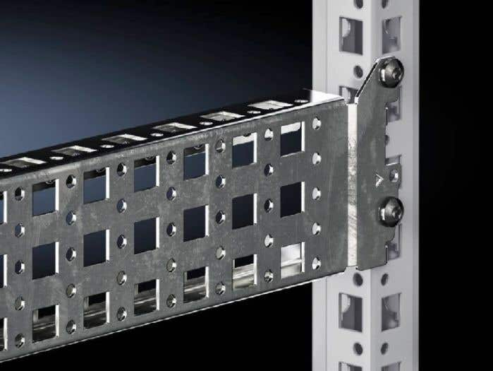Punched section with mounting flange, 23 x 64 mm for VX, VX IT, VX SE, AX plastic