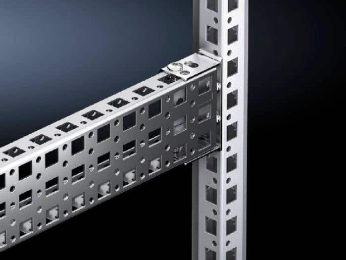Punched section without mounting flange, 23 x 64 mm for VX