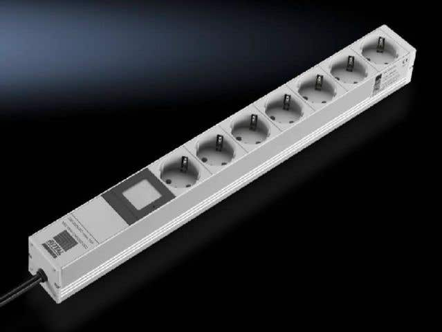 Socket strip with power measurement