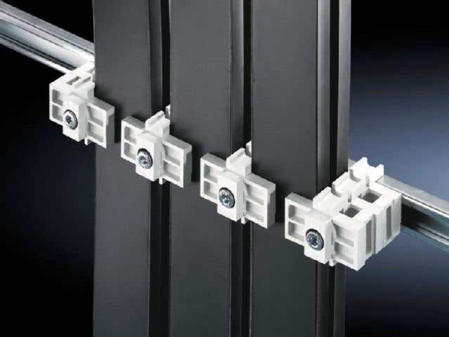 Universal support for laminated copper bars