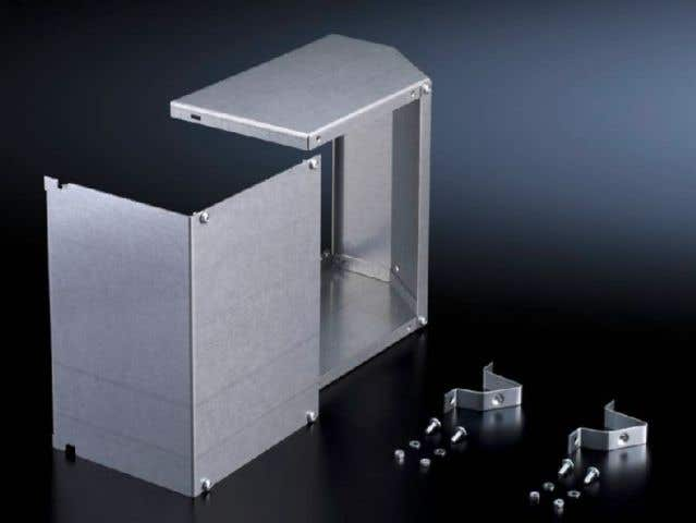 Side panel for cable chamber