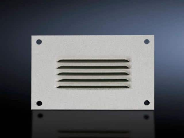 Integrated louvres
