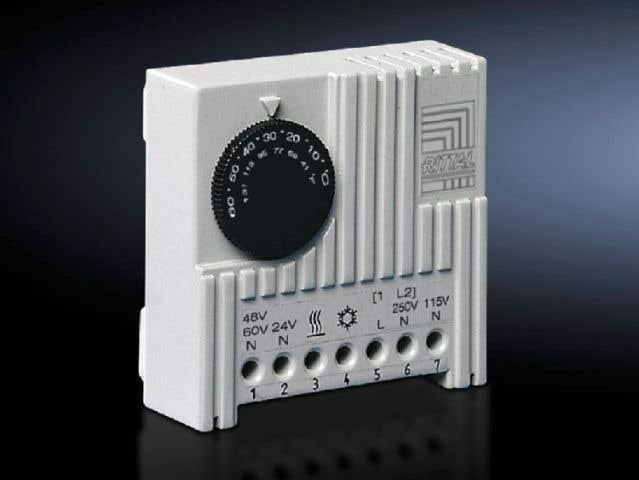 Thermostat Enclosure internal thermostat