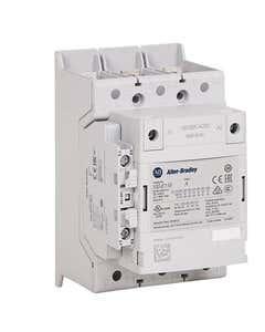 100-E MCS-E Contactor, 400A, AC3 duty, 100-250V AC 50/60Hz / 100-250V DC Electronic Coil w/ PLC Interface, 1 N.O.  1 N.C.