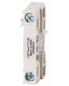 Standard auxiliary contact, 1N/O, flush mounting, screw connection