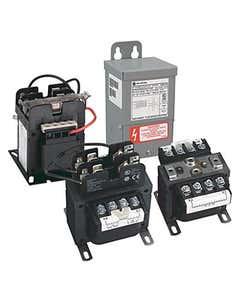 1497 - CCT Standard Transformer, 250VA, 600V 60Hz / 550V 50Hz Primary, 110V 50Hz / 120V 60Hz Secondary, 2 Pri - 1 Sec Fuse Blocks, No Cover/ No Sec. Fuse