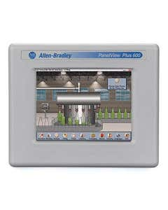 PV+6 CE 4.1,600, Colour Touch 24Vdc PanelView Plus 6 600 Terminal, 5.7in Colour, Touch Screen, Ethernet and RS-232 Communication, DC Input, Windows CE 6.0