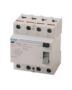 TDURCCB 50 and 60Hz 4P 100A 300mA type AC