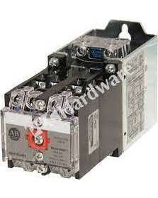 NEMA Heavy-Duty Industrial Relay , 4 N.O. Contacts, 10 Amp AC Contact Rating, 115-125V DC, Open Type Relay Rail Mount