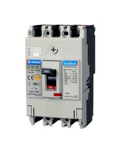 E160-SF 1P 125A FC MCCB 25kA Fixed Thermal