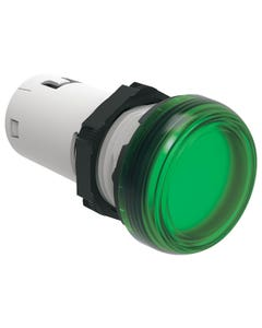 MONOBLOCK GREEN LED PILOT LIGHT 230V