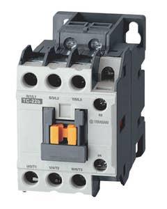 TC-9b AC 100V 3P Contactor c/w 1NO 1NC Aux