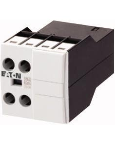 Auxiliary contact module, Front mounting auxiliary contact, 2 pole, 380 V 400 V 415 V: 4 A, 2 NC, Front fixing, Screw terminals