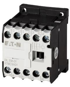Contactor, 230 V 50/60 Hz, 3 pole, 380 V 400 V, 4 kW, Contacts N/C = Normally closed= 1 NC, Screw terminals, AC operation
