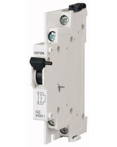 Auxiliary contact, for FAZ, PKNM, 1N/O+1N/C, 0.5HP
